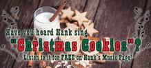 Thumb banner   christmas cookies  the song  hank s music  b