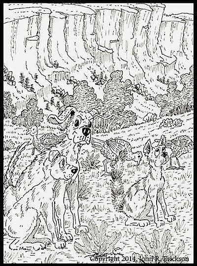 Hank 63  chapter 4 illustration