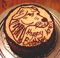 Hank the cowdog birthday cake