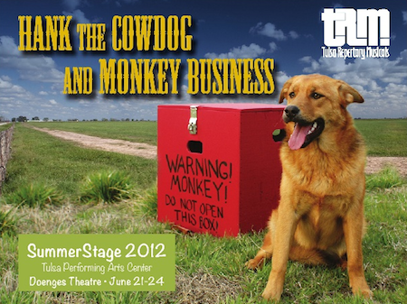 Hank the cowdog monkey business musical