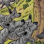 Thumb coyotes