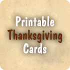 Thanksgiving Card to Print
